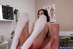 Milf nurse gets pounded