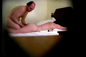 Horny Hidden Camera Massage Older Man-Older Woman Chow Pussy, Gets BlowJob