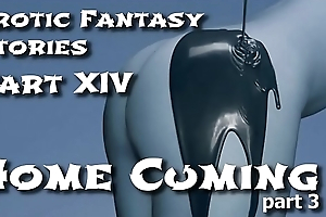 Erotic Fantasy Stories 14: Homecuming Three
