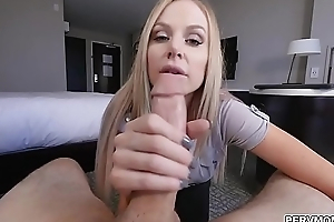 Stepmom sucked cock before the meeting
