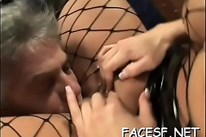 Hot gals gets her ass worshipped and licked by a kinky guy