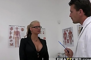 Reproachful milf (Phoenix Marie) wants that Doctor Cock and she wants it rough - BRAZZERS