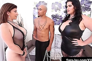 Dutiful Sara Jay Fucks BBC King Noir With Angelina Castro