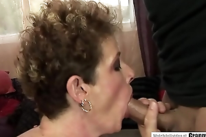Pissing mature fucked relative to