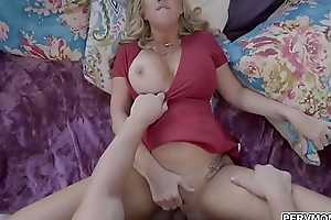 Loving stepmom takes eager dick deep