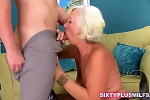 Sexy grannies and milfs fucking like a beast
