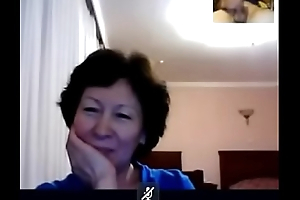 GRANNY from Kazahstan watch me how I play on skype  - CChat.Us