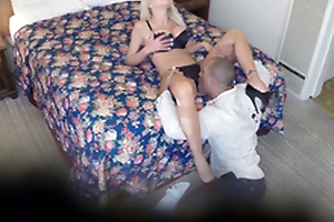 Nina Elle on hidden cam - Spying on a cheating bimbo
