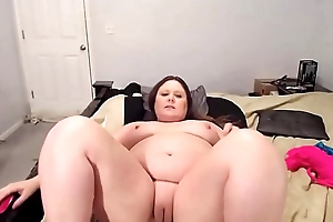 Adorable BBW MILF Courtney with squirting milky tits