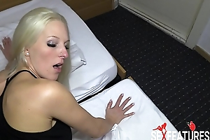 Hot European Blonde Gets A Creampie By Lucky Tourist