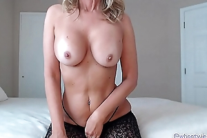 Mom Shakes Her Ass And Rides Big Black Cock