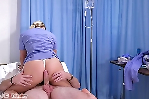 Trickery - PAWG AJ Applegate has sex on eradicate affect job